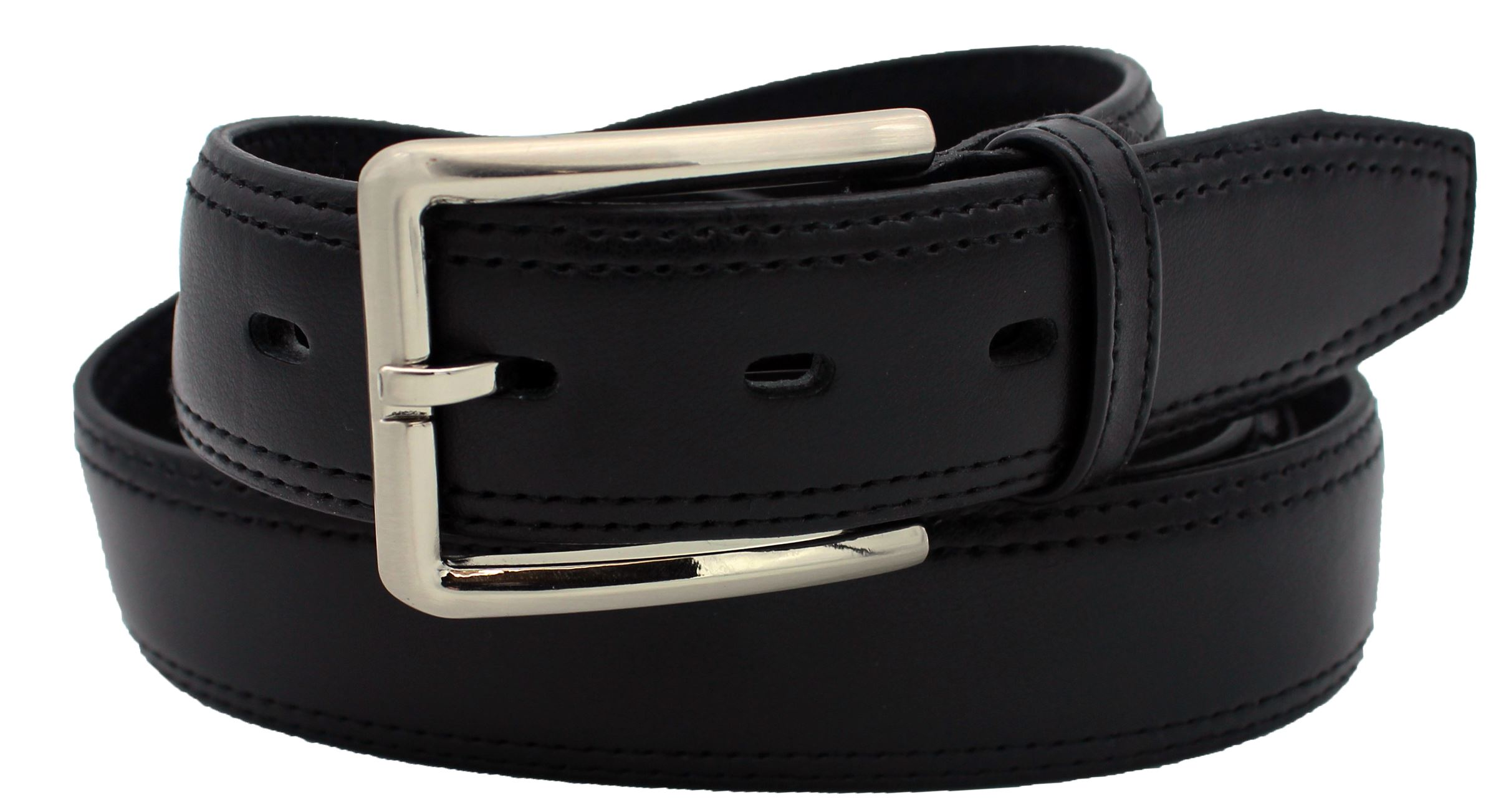 35mm Genuine Leather Double Stitch  (129317)