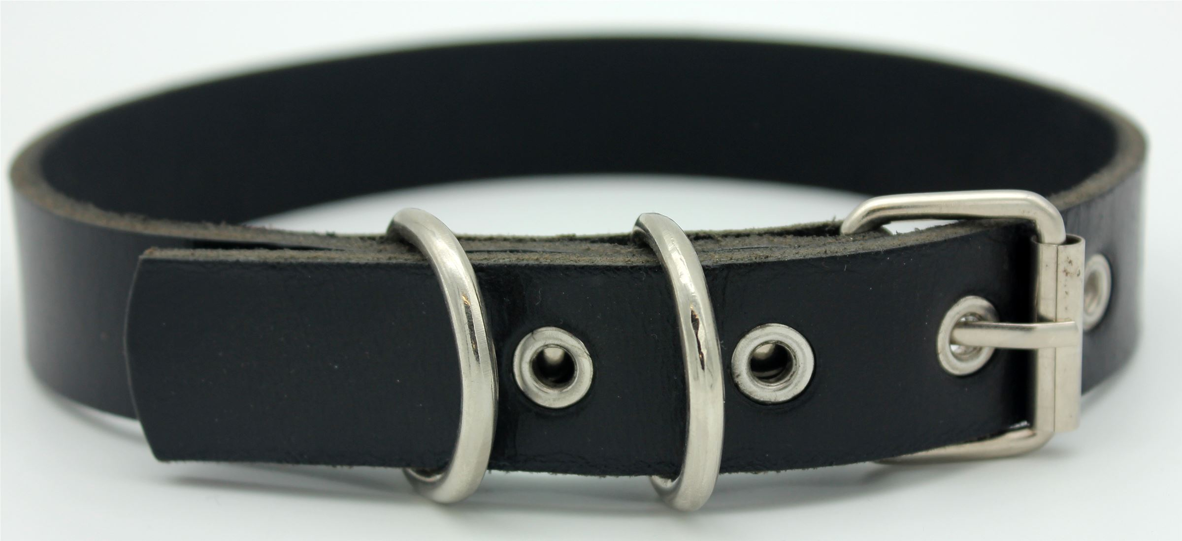 25mm Genuine Leather Collar Stud Detail (129355)